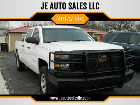 2014 Chevrolet Silverado 1500 for sale at JE AUTO SALES LLC in Webb City MO