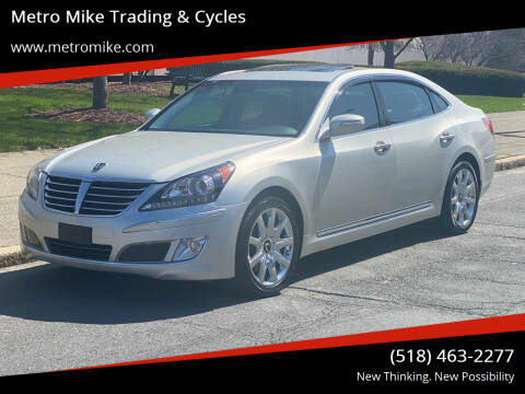 2011 Hyundai Equus for sale at Metro Mike Trading & Cycles in Albany NY