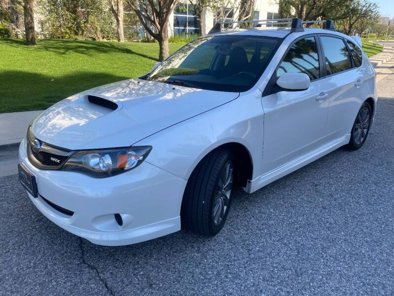2009 Subaru Impreza for sale at Donada  Group Inc in Arleta CA