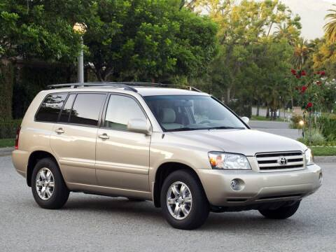 2004 Toyota Highlander for sale at TTC AUTO OUTLET/TIM'S TRUCK CAPITAL & AUTO SALES INC ANNEX in Epsom NH