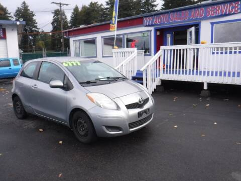 2009 Toyota Yaris for sale at 777 Auto Sales and Service in Tacoma WA