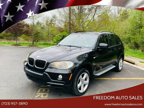 2008 BMW X5 for sale at Freedom Auto Sales in Chantilly VA