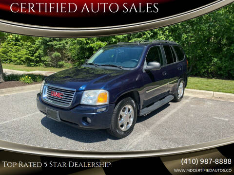 2007 GMC Envoy for sale at CERTIFIED AUTO SALES in Severn MD