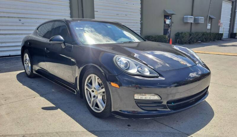 2011 Porsche Panamera for sale at CAR UZD in Miami FL