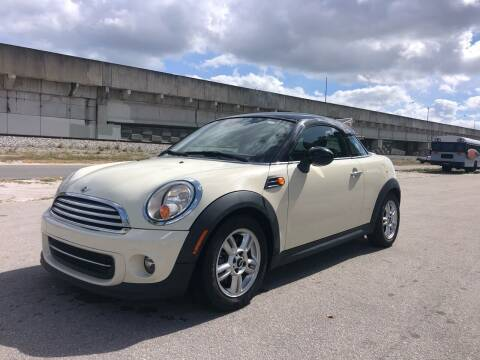 2012 MINI Cooper Coupe for sale at Florida Cool Cars in Fort Lauderdale FL
