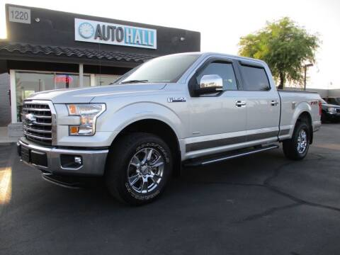 2015 Ford F-150 for sale at Auto Hall in Chandler AZ