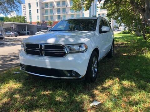 2015 Dodge Durango for sale at Meru Motors in Hollywood FL