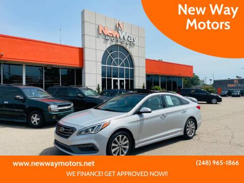 2016 Hyundai Sonata for sale at New Way Motors in Ferndale MI
