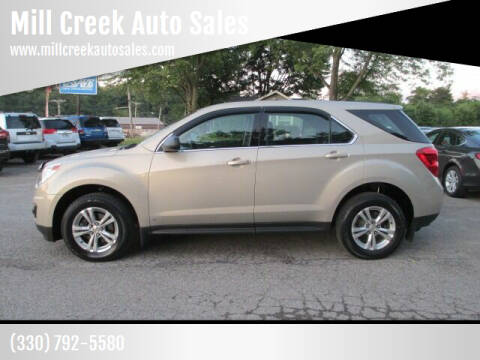2010 Chevrolet Equinox for sale at Mill Creek Auto Sales in Youngstown OH
