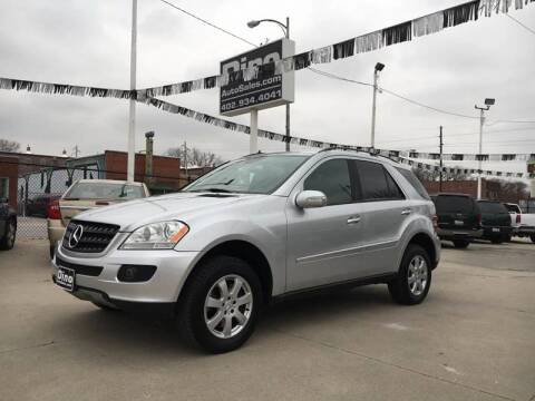 2006 Mercedes-Benz M-Class for sale at Dino Auto Sales in Omaha NE