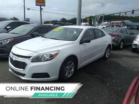 2015 Chevrolet Malibu for sale at Marino's Auto Sales in Laurel DE