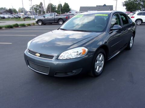 2011 Chevrolet Impala for sale at Ideal Auto Sales, Inc. in Waukesha WI