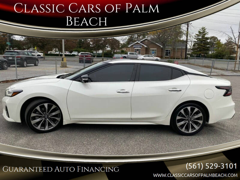 2019 Nissan Maxima for sale at Classic Cars of Palm Beach in Jupiter FL
