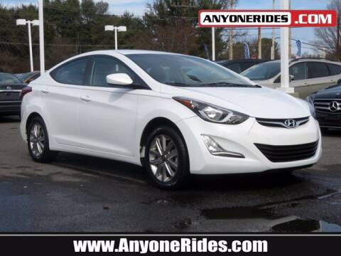 2016 Hyundai Elantra for sale at ANYONERIDES.COM in Kingsville MD