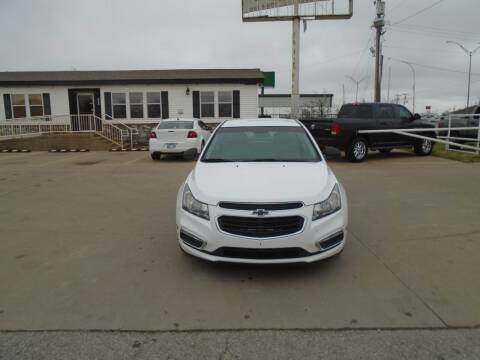 2016 Chevrolet Cruze Limited for sale at Zoom Auto Sales in Oklahoma City OK