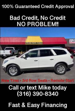 2012 Buick Enclave for sale at Affordable Mobility Solutions, LLC - Standard Vehicles in Wichita KS