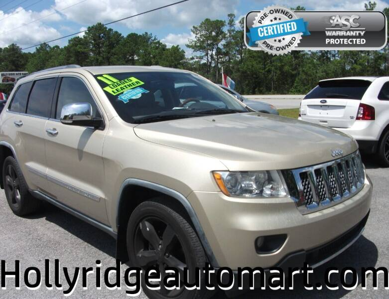 2011 Jeep Grand Cherokee for sale at Holly Ridge Auto Mart in Holly Ridge NC