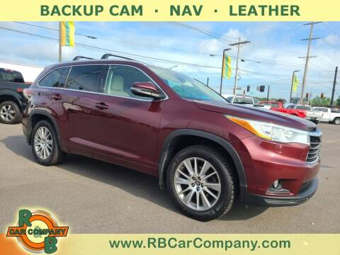 2016 Toyota Highlander for sale at R & B Car Company in South Bend IN