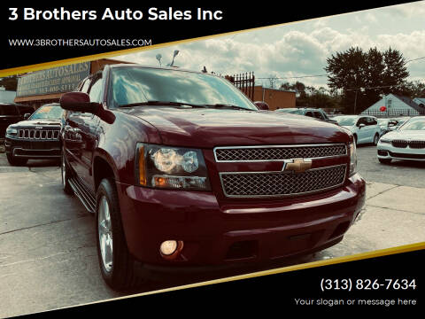 2007 Chevrolet Suburban for sale at 3 Brothers Auto Sales Inc in Detroit MI