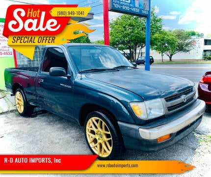 1998 Toyota Tacoma for sale at R-D AUTO IMPORTS, Inc in Charlotte NC