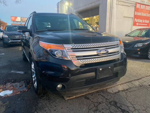 2014 Ford Explorer for sale at GRAND USED CARS  INC in Little Ferry NJ