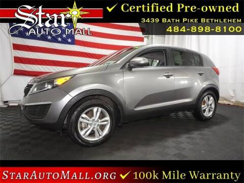 2011 Kia Sportage for sale at STAR AUTO MALL 512 in Bethlehem PA