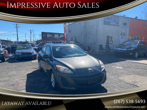 2011 Mazda MAZDA3 for sale at Impressive Auto Sales in Philadelphia PA