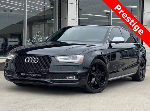 2014 Audi S4 for sale at Carmel Motors in Indianapolis IN