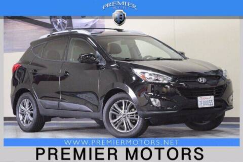2014 Hyundai Tucson for sale at Premier Motors in Hayward CA