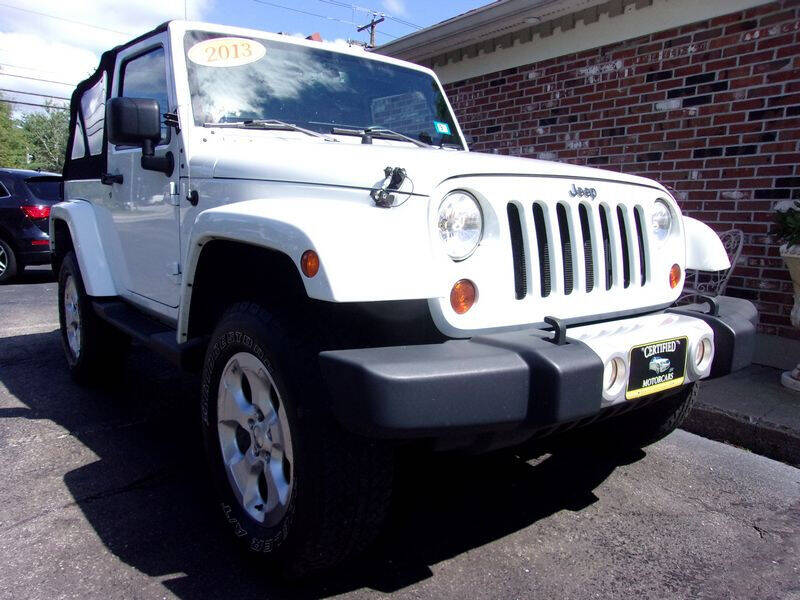 2013 Jeep Wrangler for sale at Certified Motorcars LLC in Franklin NH