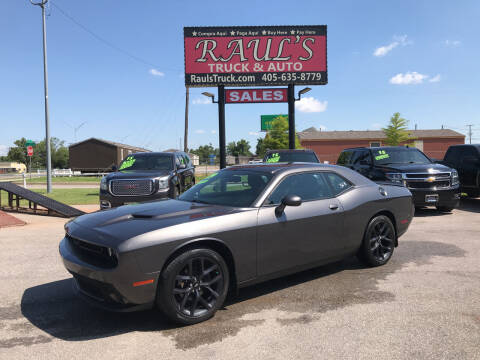 2019 Dodge Challenger for sale at RAUL'S TRUCK & AUTO SALES, INC in Oklahoma City OK