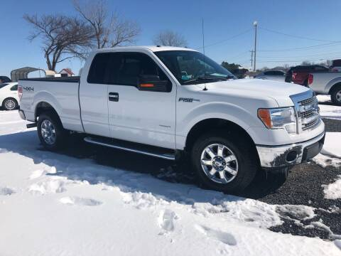 2013 Ford F-150 for sale at RAYMOND TAYLOR AUTO SALES in Fort Gibson OK
