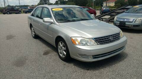 2003 Toyota Avalon for sale at Kelly & Kelly Supermarket of Cars in Fayetteville NC