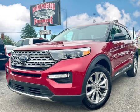 2021 Ford Explorer for sale at Featherston Motors in Lexington KY