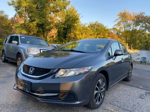 2013 Honda Civic for sale at Royal Crest Motors in Haverhill MA
