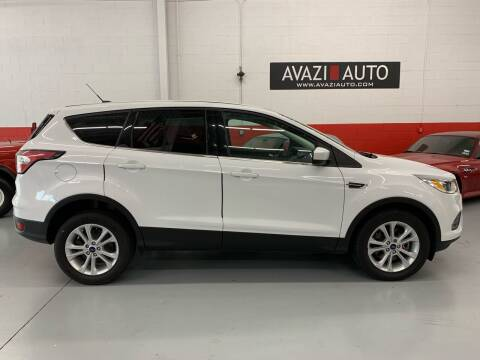 2017 Ford Escape for sale at AVAZI AUTO GROUP LLC in Gaithersburg MD