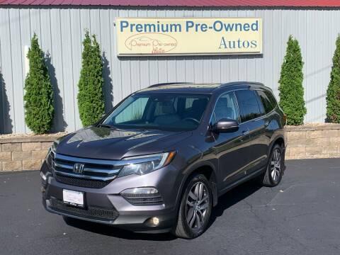 2016 Honda Pilot for sale at PREMIUM PRE-OWNED AUTOS in East Peoria IL