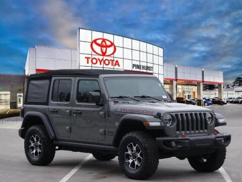 2020 Jeep Wrangler Unlimited for sale at PHIL SMITH AUTOMOTIVE GROUP - Pinehurst Toyota Hyundai in Southern Pines NC