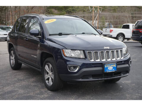2016 Jeep Compass for sale at VILLAGE MOTORS in South Berwick ME