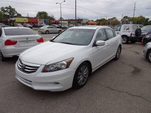 2012 Honda Accord for sale at Cromax Automotive in Ann Arbor MI