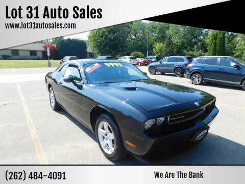 2010 Dodge Challenger for sale at Lot 31 Auto Sales in Kenosha WI