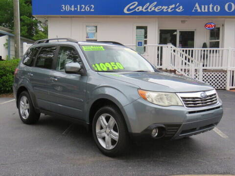 2010 Subaru Forester for sale at Colbert's Auto Outlet in Hickory NC