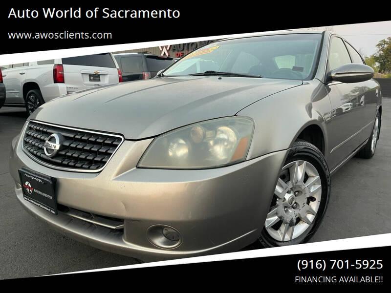2006 Nissan Altima for sale at Auto World of Sacramento Stockton Blvd in Sacramento CA