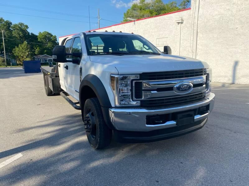 2018 Ford F-550 Super Duty for sale at Consumer Auto Credit in Tampa FL
