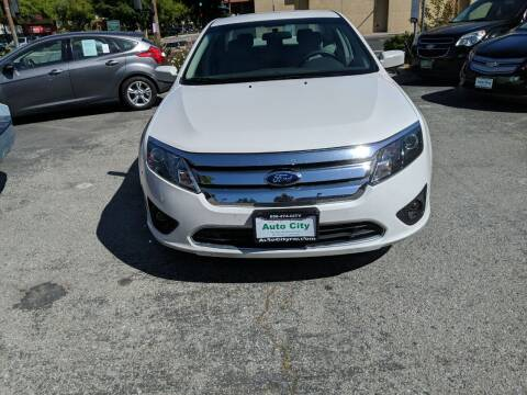 2012 Ford Fusion for sale at Auto City in Redwood City CA