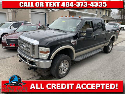 2008 Ford F-350 Super Duty for sale at World Class Auto Exchange in Lansdowne PA