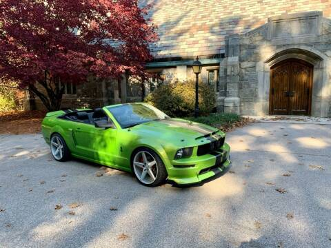 2005 Ford Mustang for sale at ds motorsports LLC in Hudson NH