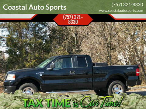 2006 Ford F-150 for sale at Coastal Auto Sports in Chesapeake VA