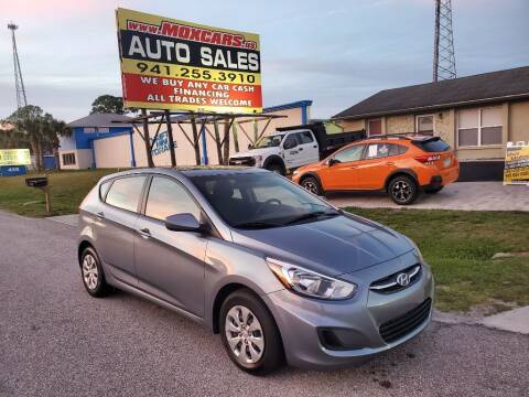 2017 Hyundai Accent for sale at Mox Motors in Port Charlotte FL