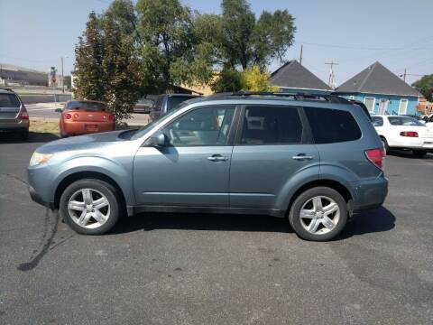 2010 Subaru Forester for sale at Creekside Auto Sales in Pocatello ID